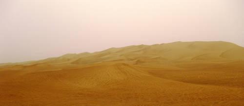 Grainy Desert by matzenmatzen
