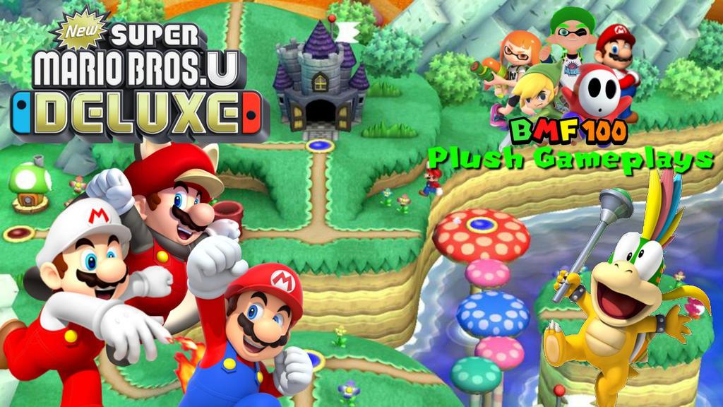 New Super Mario Bros U Deluxe Walkthrough 1 By Bigmariofan100 On