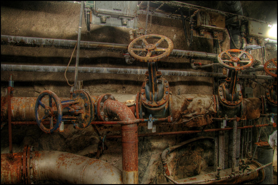 the old pipes by chribba on deviantart