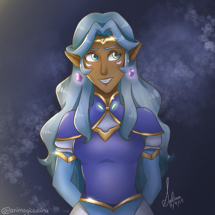 Princess Allura by SalinaTheArtist