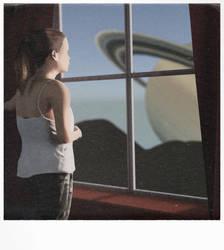 Teisa am Fenster by Beweglichebilder