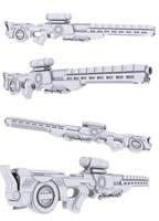 Prototype Rifle by nahiyankhan