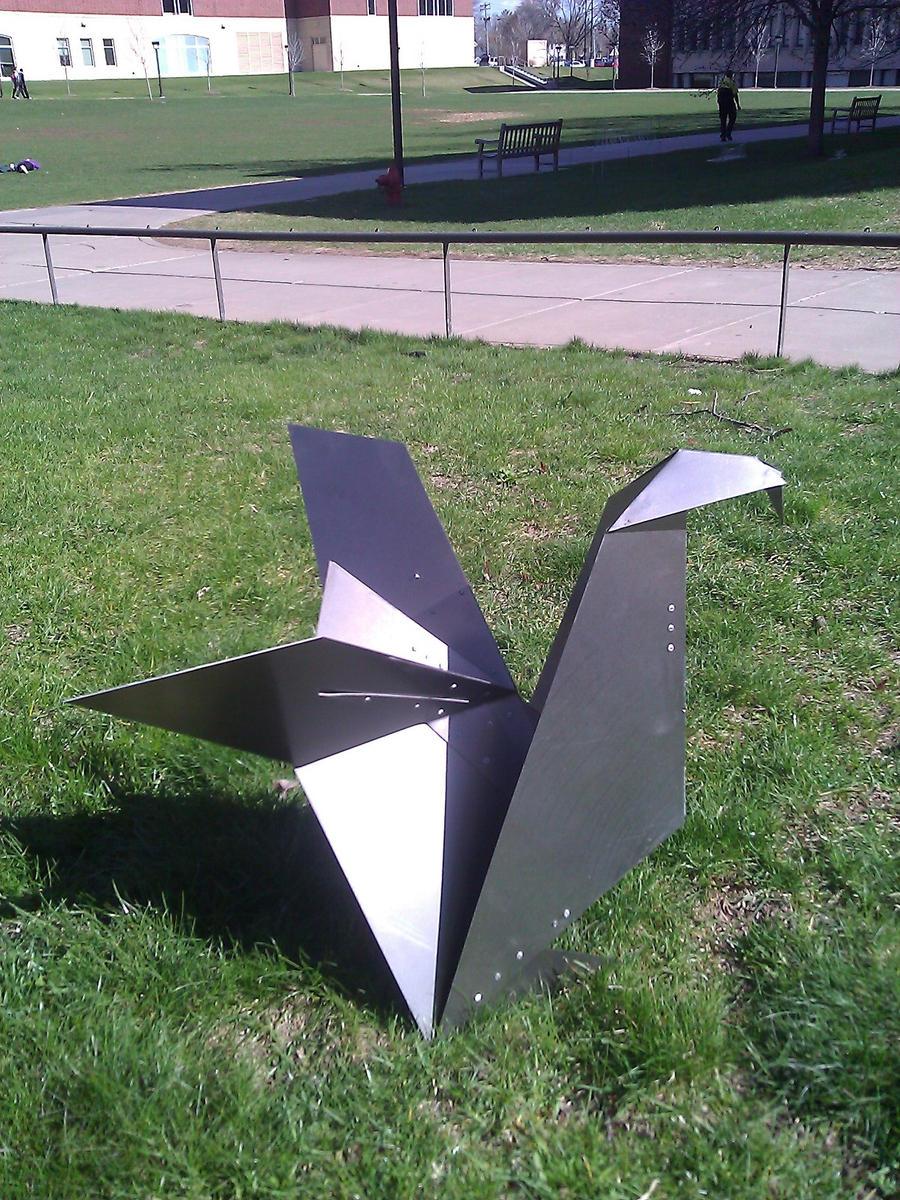 metal origami by nahiyankhan on deviantart