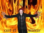 Axel in FLAMES :D