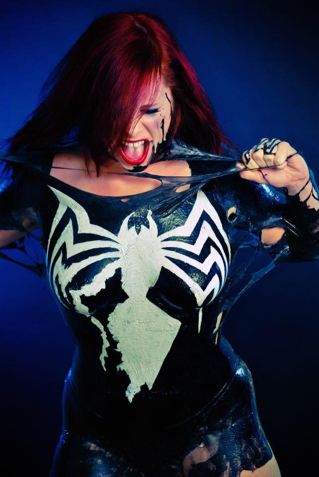 Venom Wants To Play by Alexia-Jean-Grey