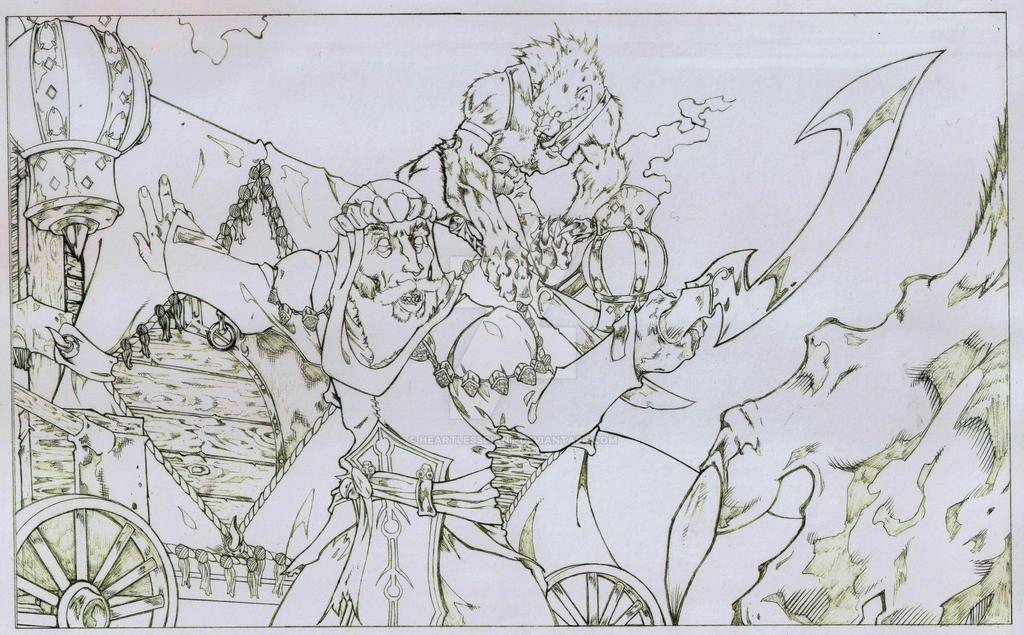 Wayfinder 12 Lamashtu Story Art by heartlessgiant