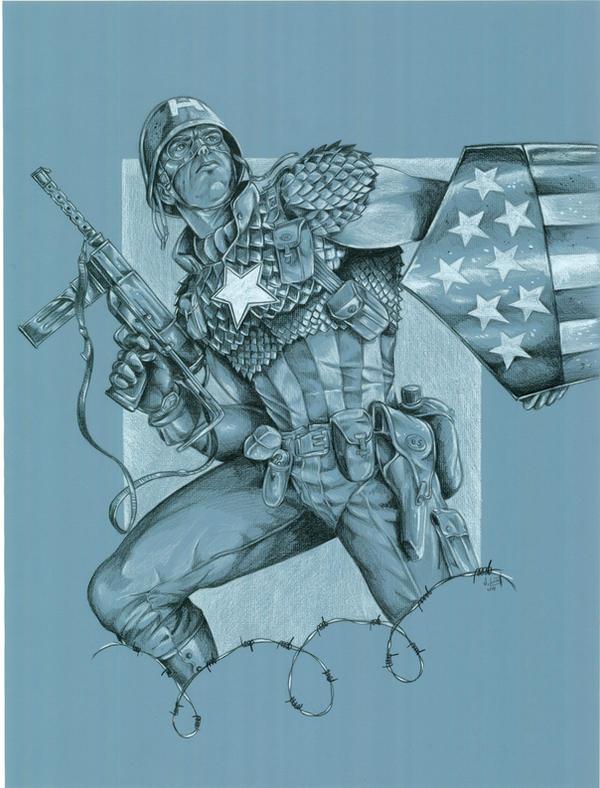 Ultimate Captain-- World War 2 by jlonnett