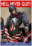 Captain America won't quit