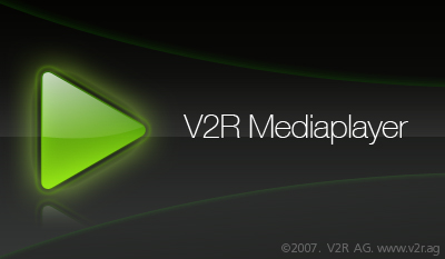 V2R Media Player logo by medianrg