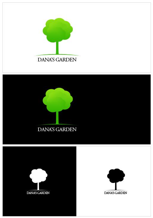 Dana's Garden Logo by medianrg
