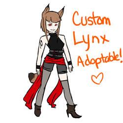 Custom Lynx Adoptable by Paperadopts