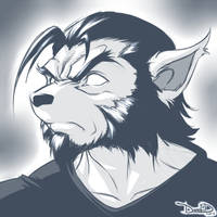 Dante (Sketch) 11-22-12 by DamnEvilDog