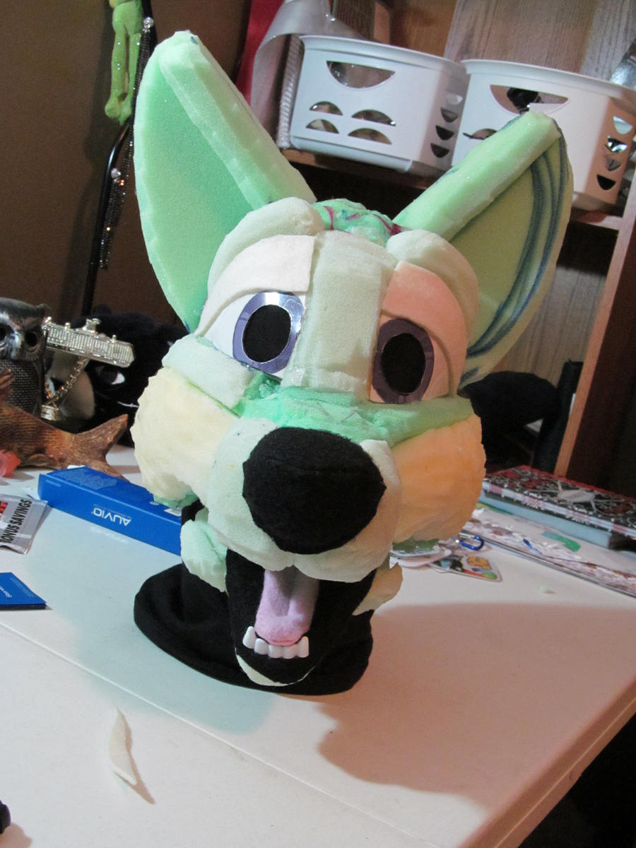 Refurbish headbase finished by PawthenticCreations