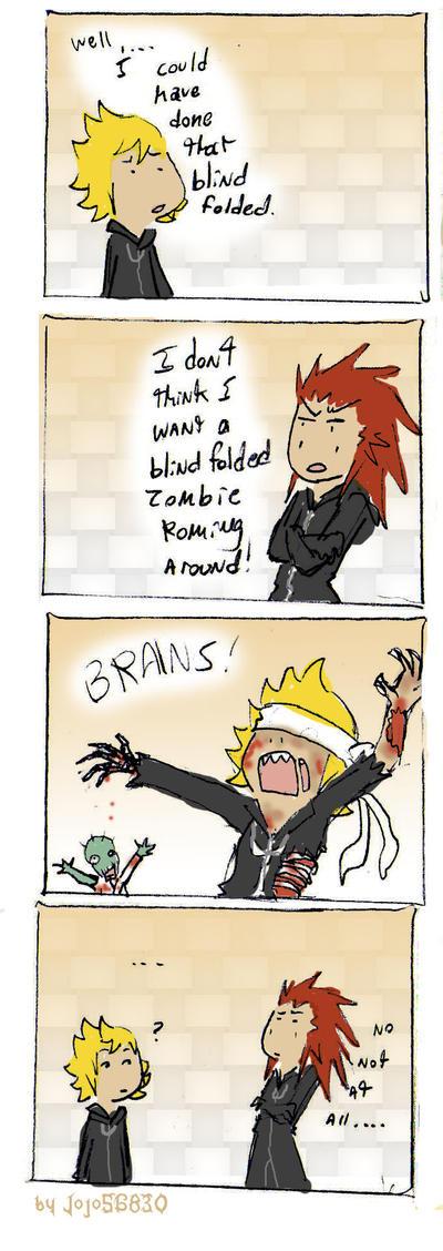 358 2 Days Spoof: Zombie by jojo56830