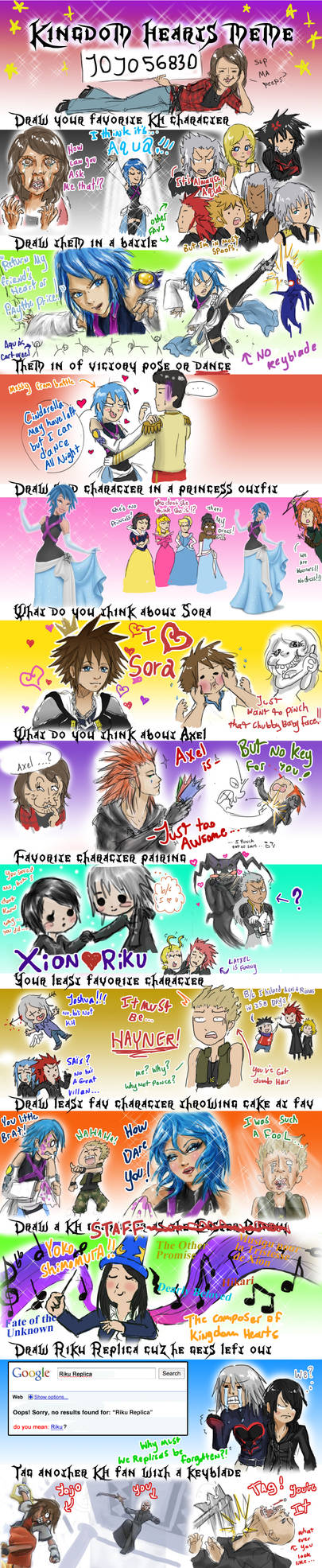 Kingdom hearts Meme by jojo56830