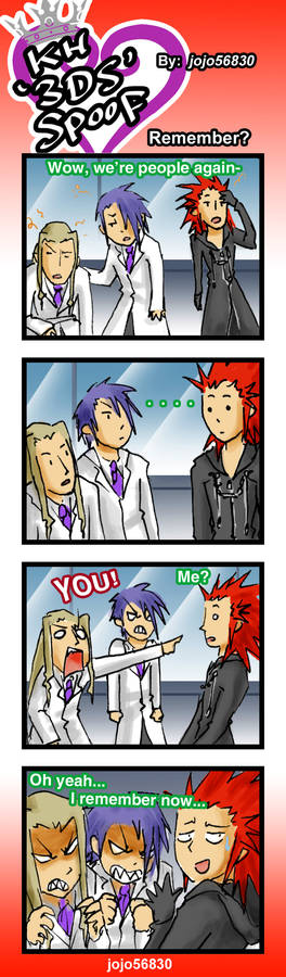 KH 3DS Spoof: Remember?