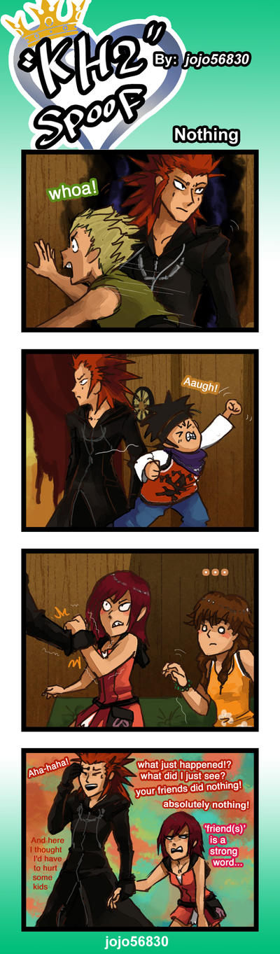 KH2 Spoof: Nothing by jojo56830