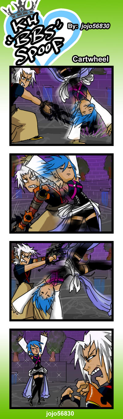 KH BBS Spoof: Cartwheel by jojo56830