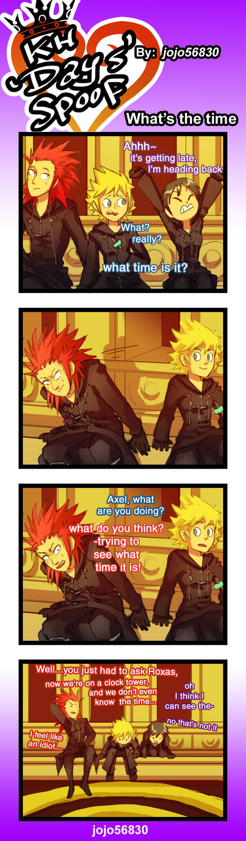 Kh Days Spoof Wts The Time By Jojo56830 On Deviantart