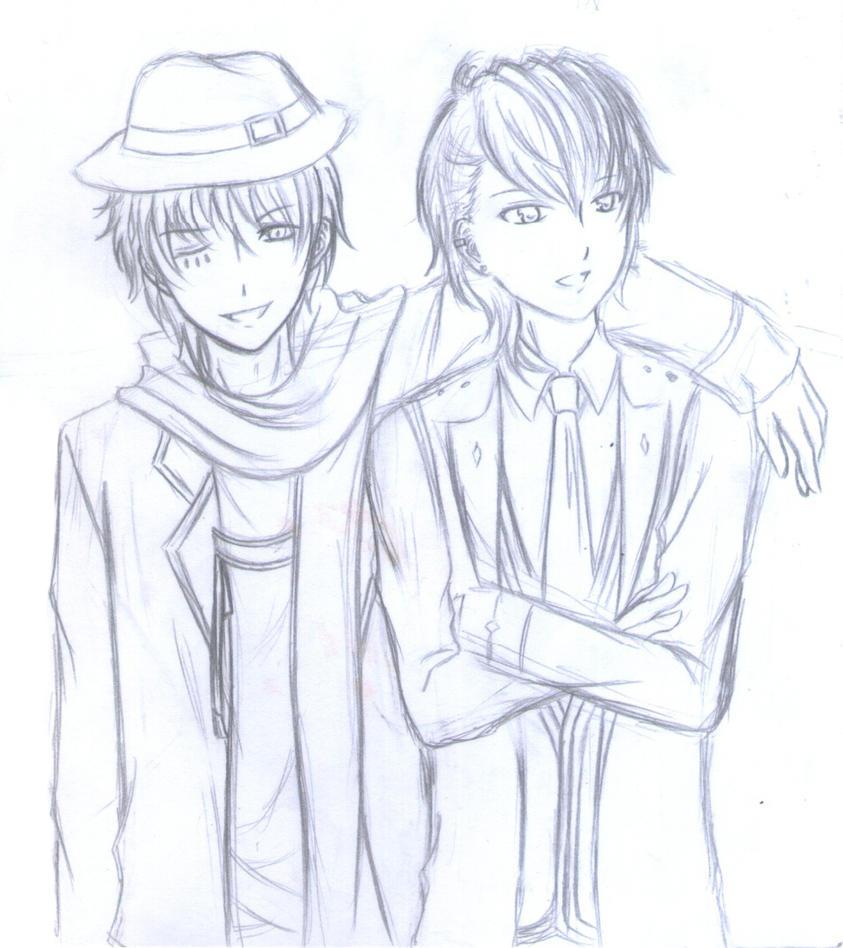 :VIE: Night party event sketch by Kokuseiya-Kanna