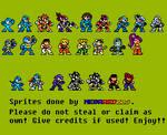 Capcom SuperStars in Classic Sprite Style