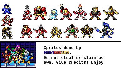 Mega Man PC Style Resprites (Take 2) by MegaRed225