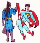 Super-Bat wedgies