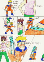 Request - Naruto Wedgie 2 by Black-Chocobo99