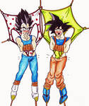 DBZ wedgies