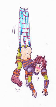Request - Hiccup wedgie