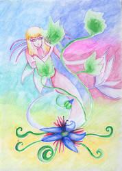 Flower Spirit by Mystery-Voice