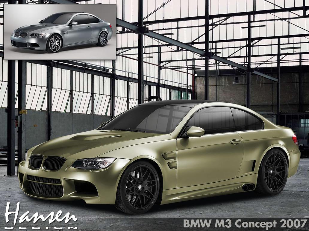 BMW M3 V8 Concept by ilPoli on DeviantArt