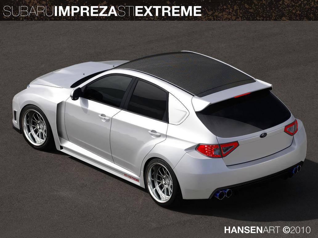 Subaru Impreza STi Extreme by ilPoli