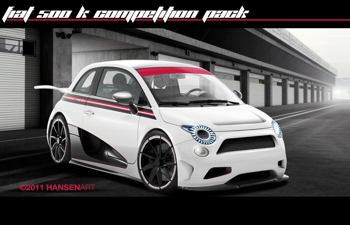 Fiat 500 K Competition Pack By Ilpoli On Deviantart