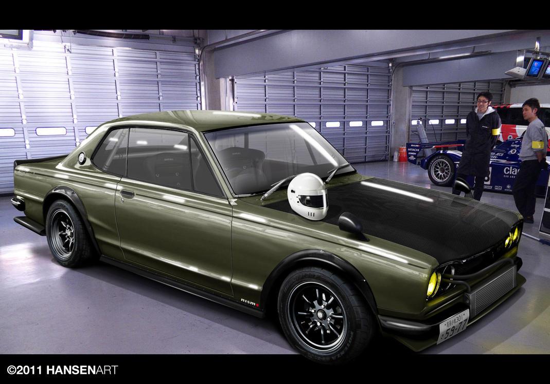 Nissan Skyline KGC10 by ilPoli