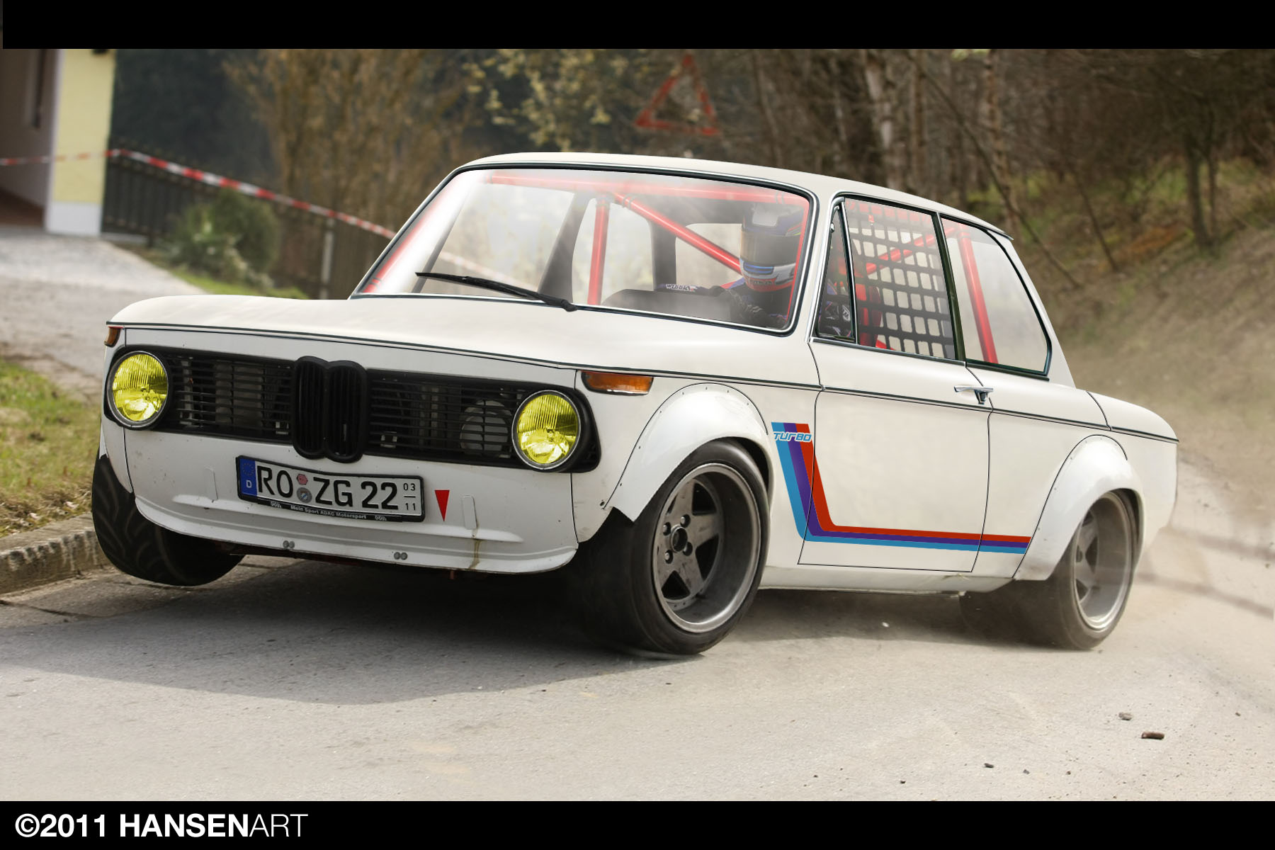 Bmw 2002 Tii Race Car >> BMW 2002 by ilPoli on DeviantArt
