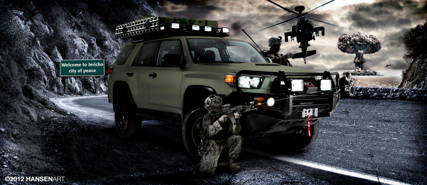 Toyota 4Runner Project Jericho