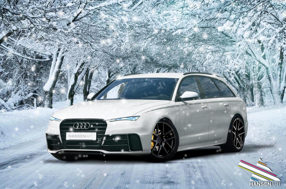 Audi RR6 Avant Concept Winter Edition