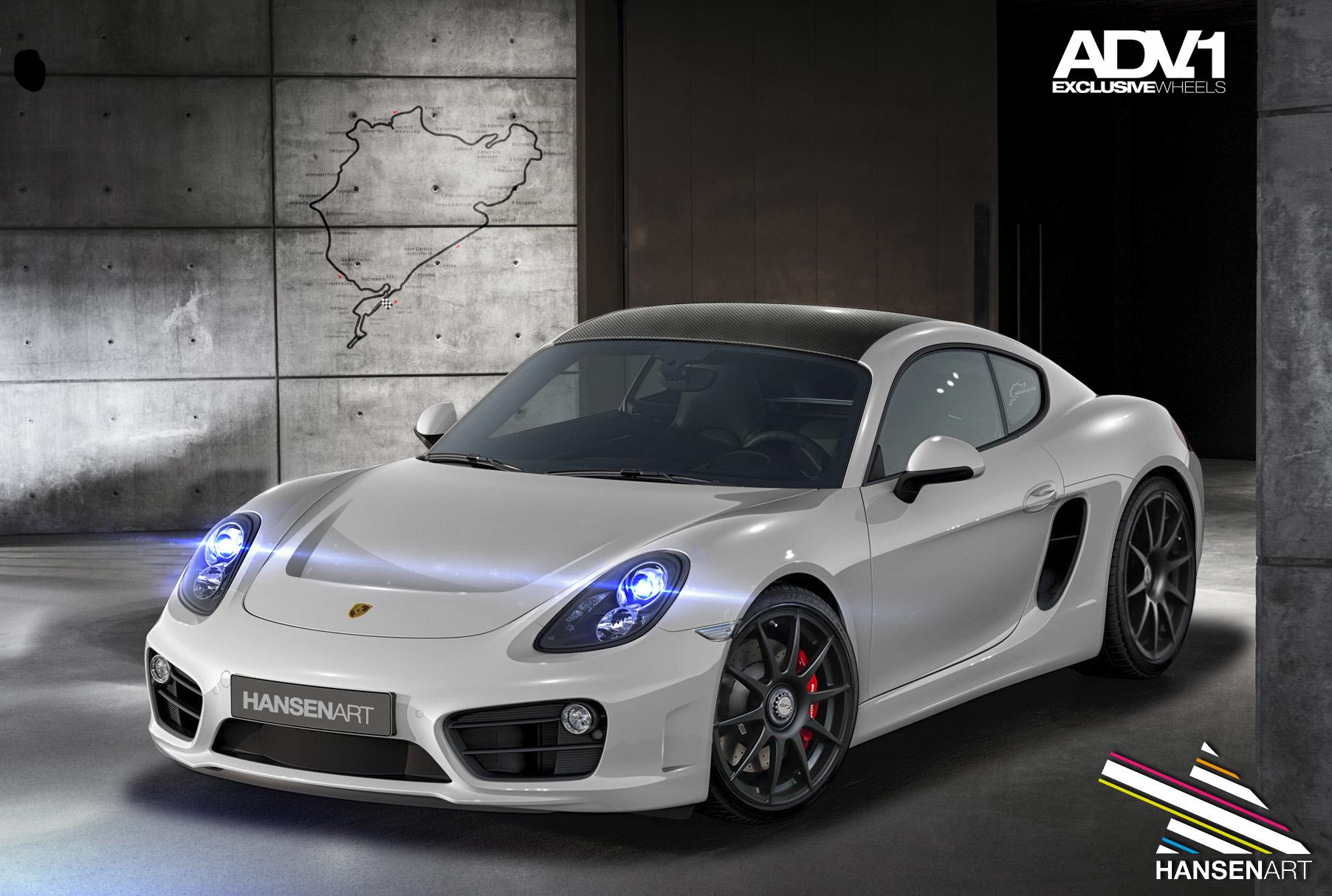 Porsche Cayman by ilPoli