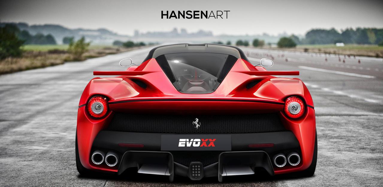 LaFerrari EVOXX rear view