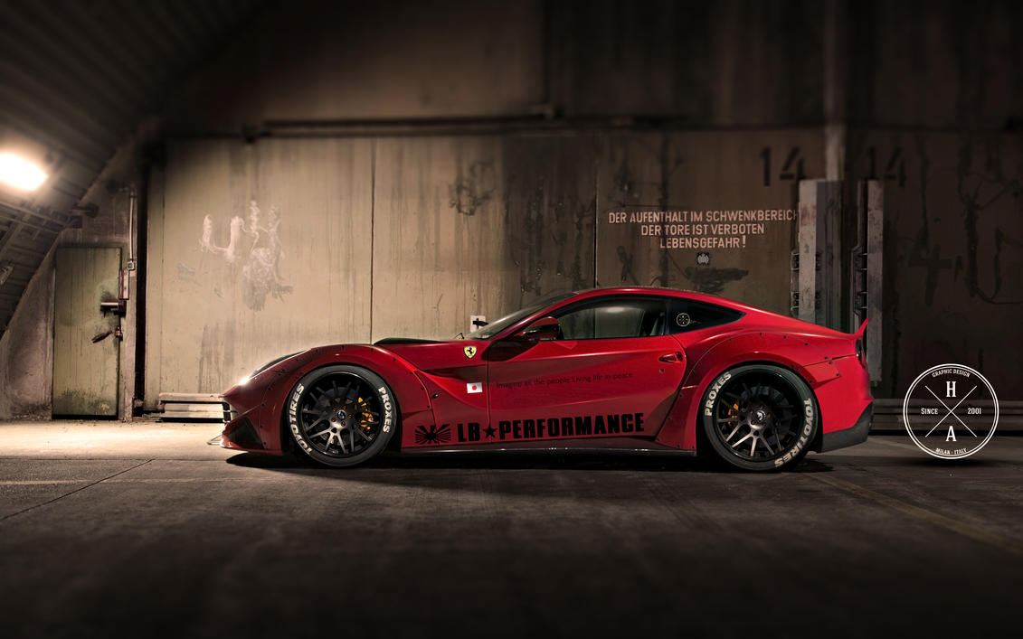LB Performance Ferrari F12 Berlinetta by ilPoli
