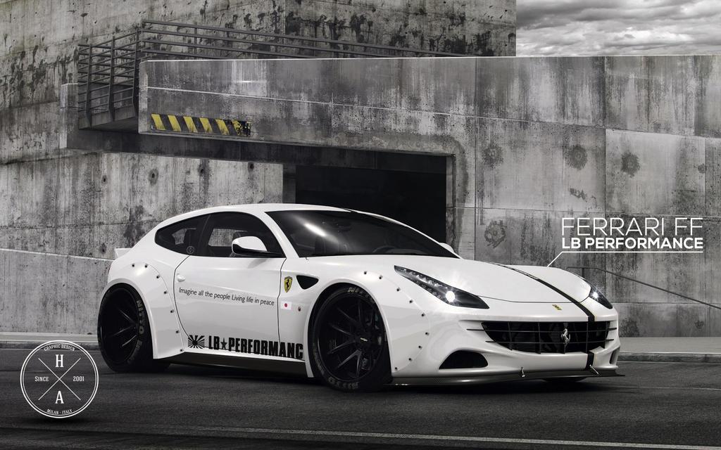 LB Performance Ferrari FF by ilPoli