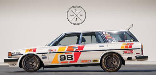 1986 Toyota Cressida Wagon - IMSA edition