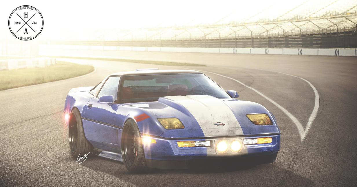 Corvette C4 Race by ilPoli