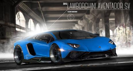 2015 Lamborghini Aventador SV