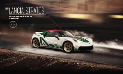 2016 Lancia Stratos speculative render