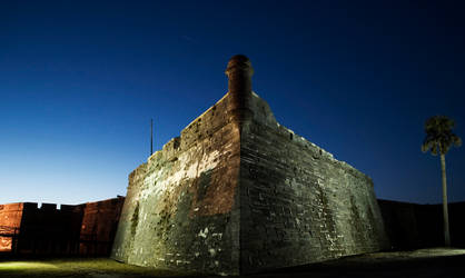 St Augustine Fort by philinchilin