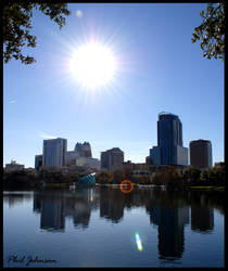 City of Downtown Orlando by philinchilin