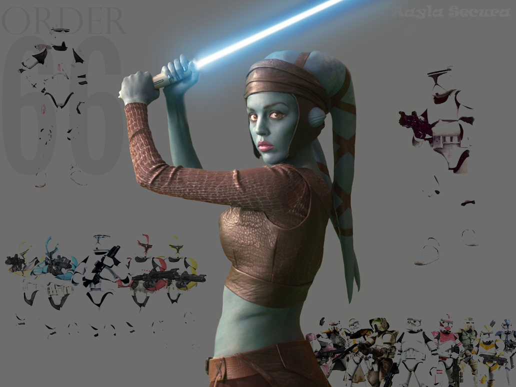 Aayla Secura - Order 66 by Thimburd
