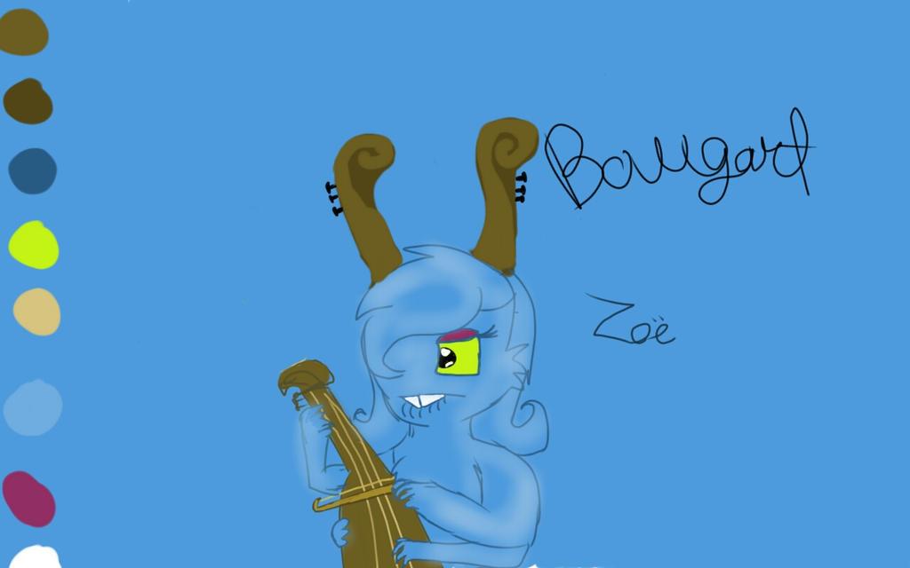 My Singing MonstersBowgart Drawing By Faithrandomart On